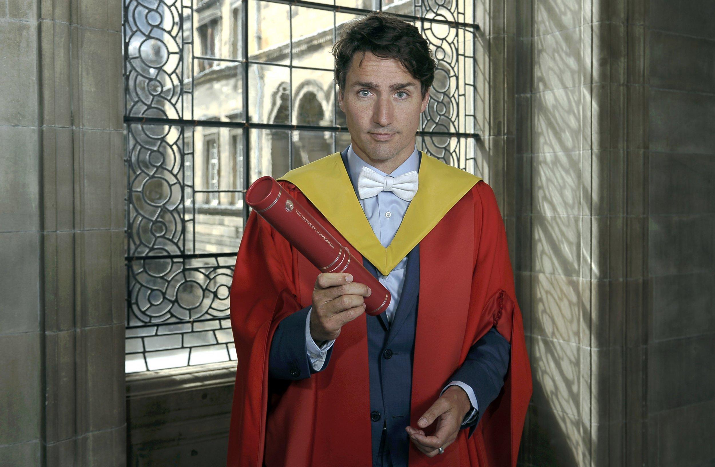 Justin Trudeau degree