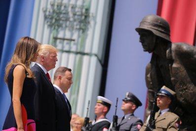 Trump in Poland
