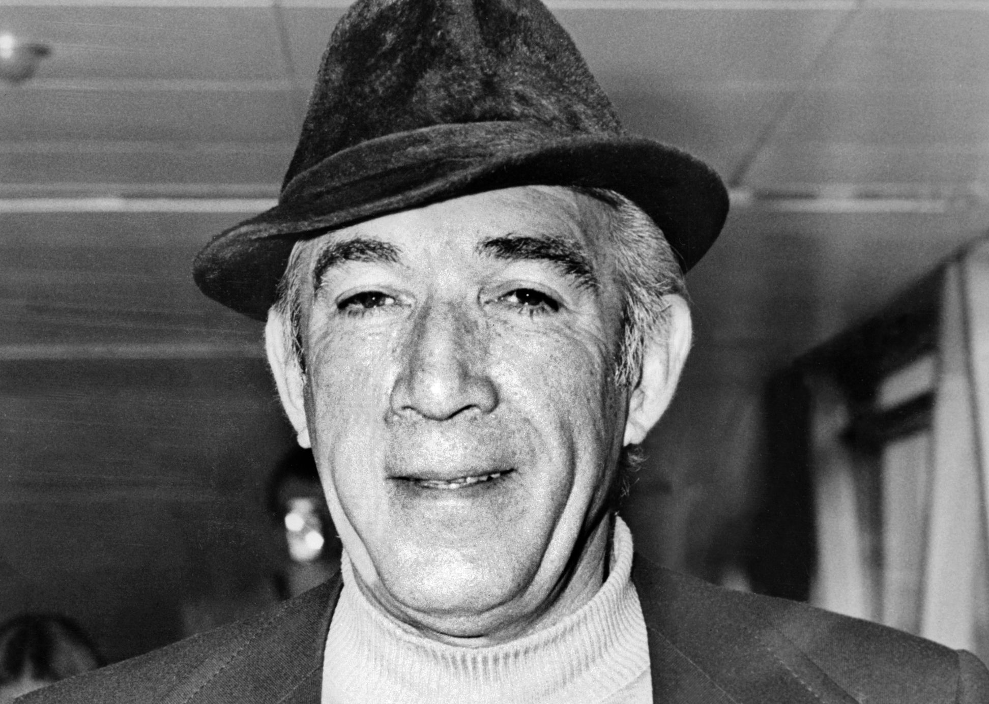 """Anthony Quinn from """"Zorba the Greek"""""""