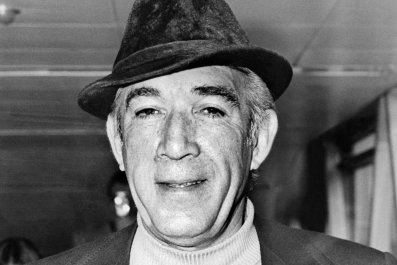 "Anthony Quinn from ""Zorba the Greek"""