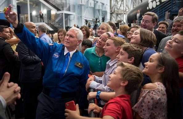 7-6-17 Mike Pence NASA