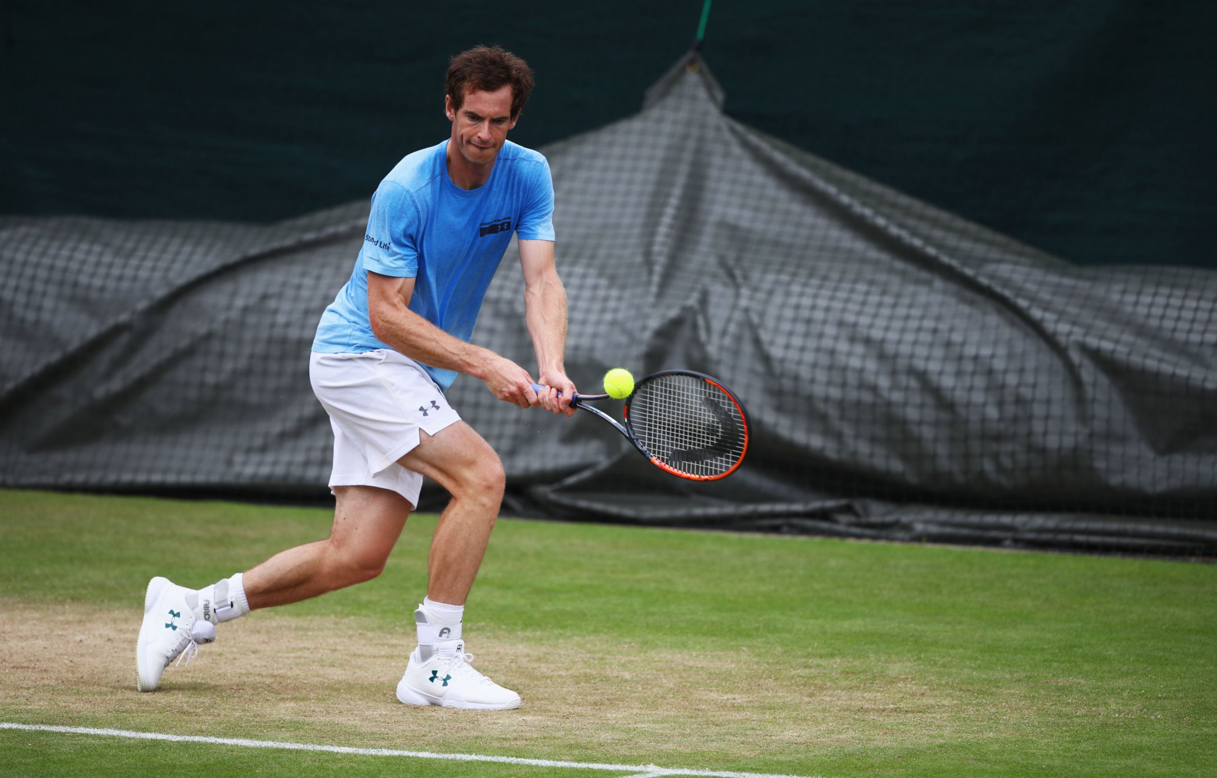 World number one tennis player Andy Murray.