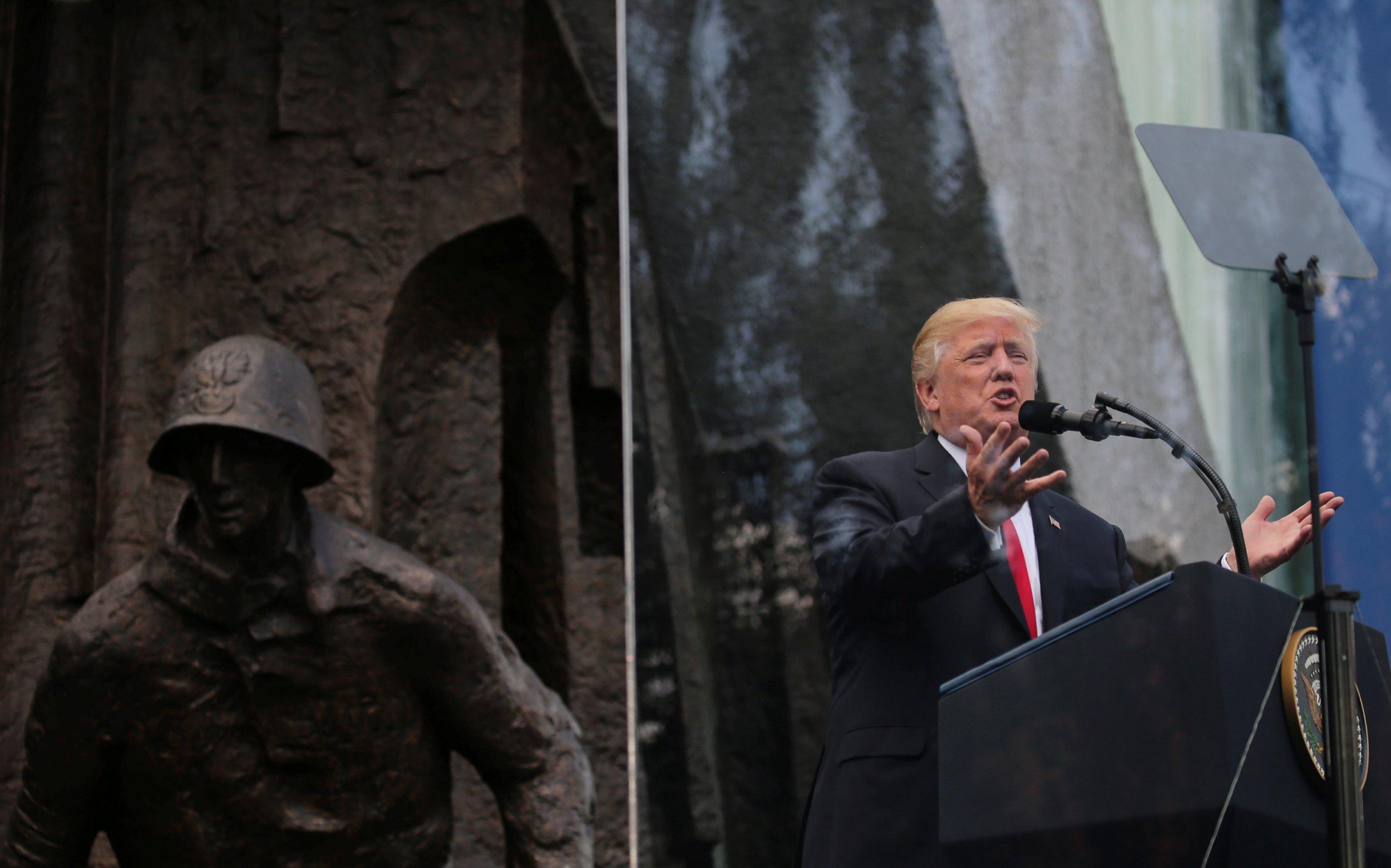 Trump Warsaw