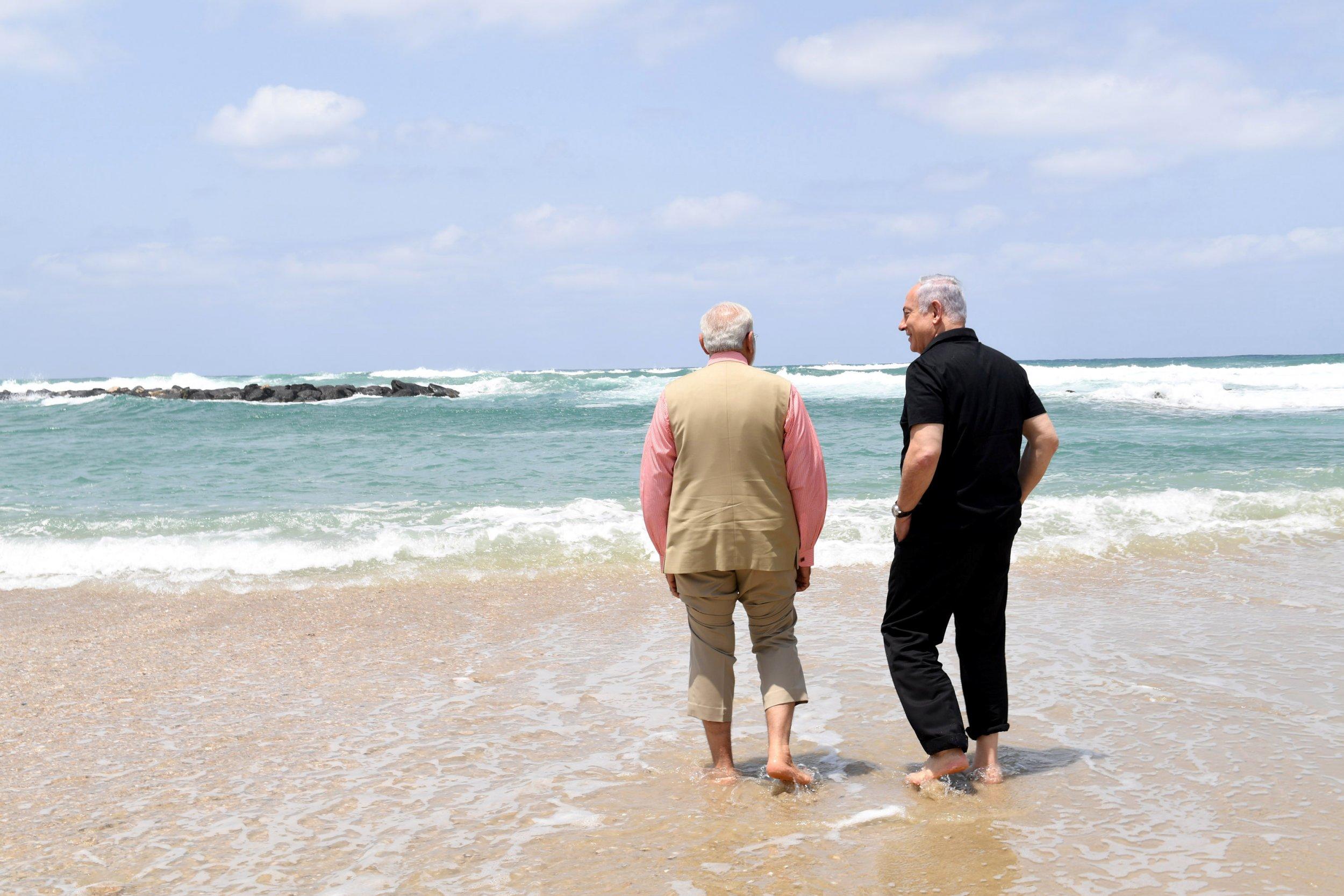 Modi and Netanyahu