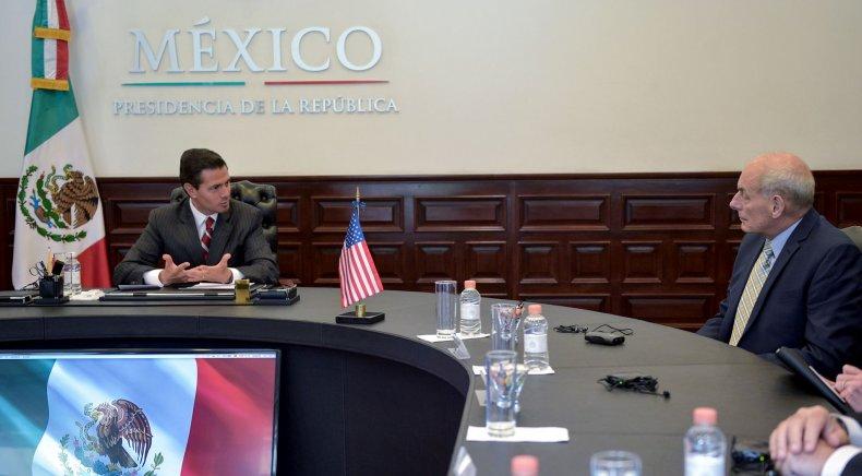 John Kelly in Mexico