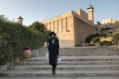 Hebron's contested holy site