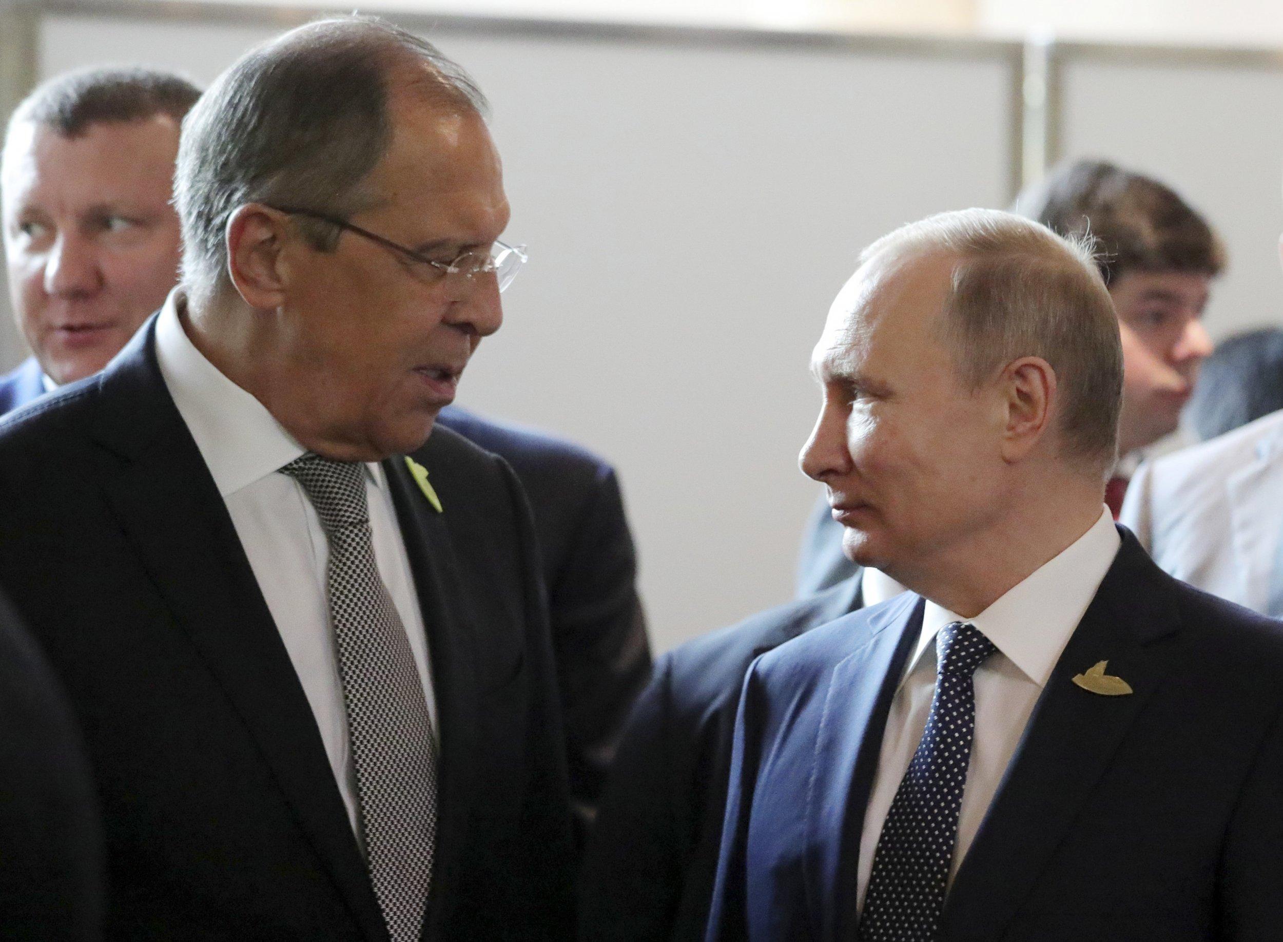 Putin and Lavrov