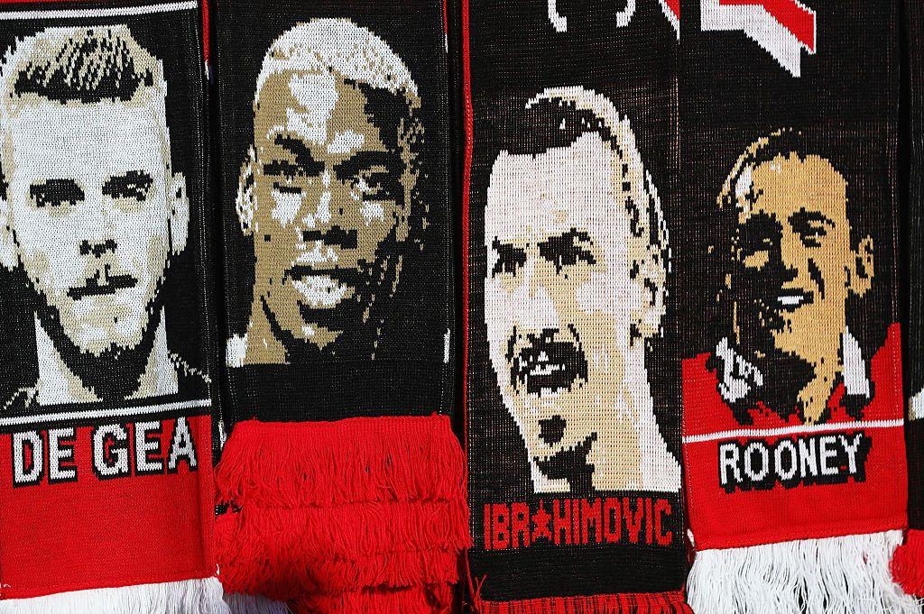 Manchester United Scarves