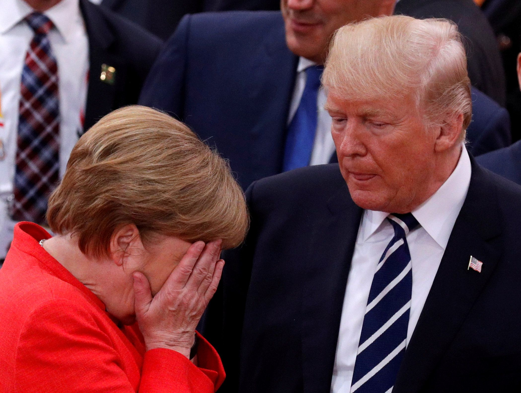 Merkel: Trump 'Even Made a Contribution' on Climate Change ...