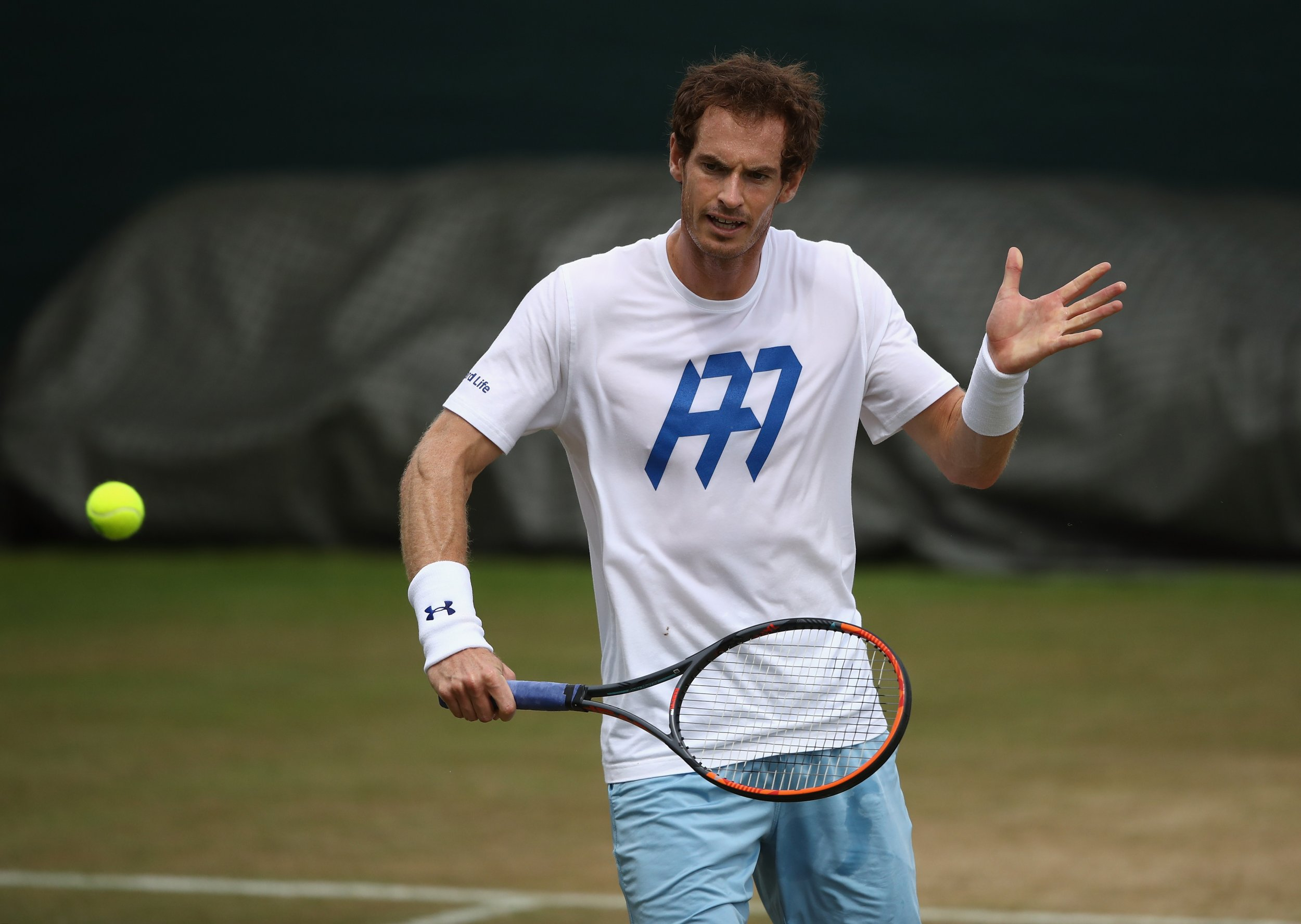 World number one tennis professional Andy Murray.