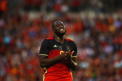 Belgium international striker Romelu Lukaku.