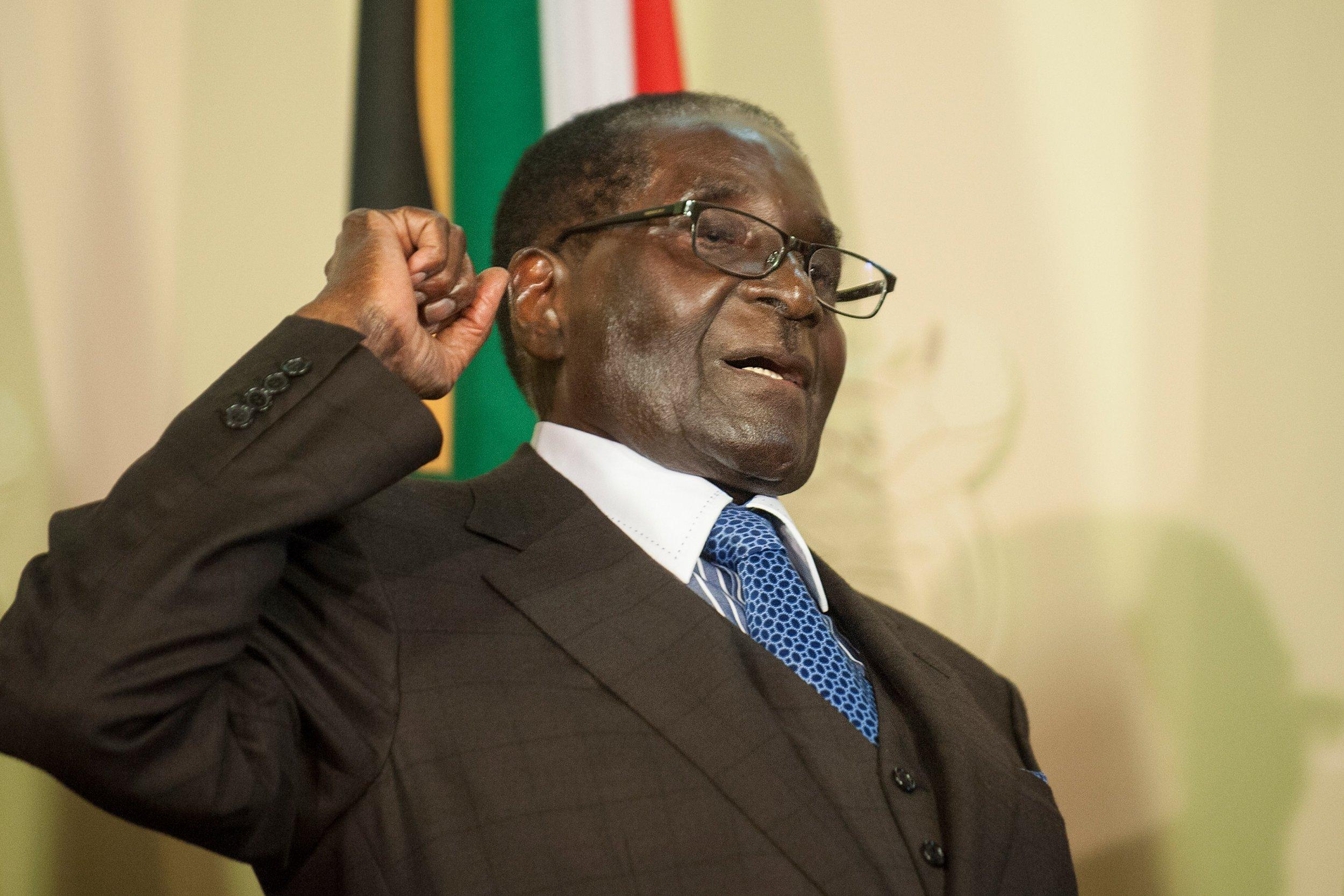 Zimbabwe President Robert Mugabe's Wife Injured in 'Freak ...