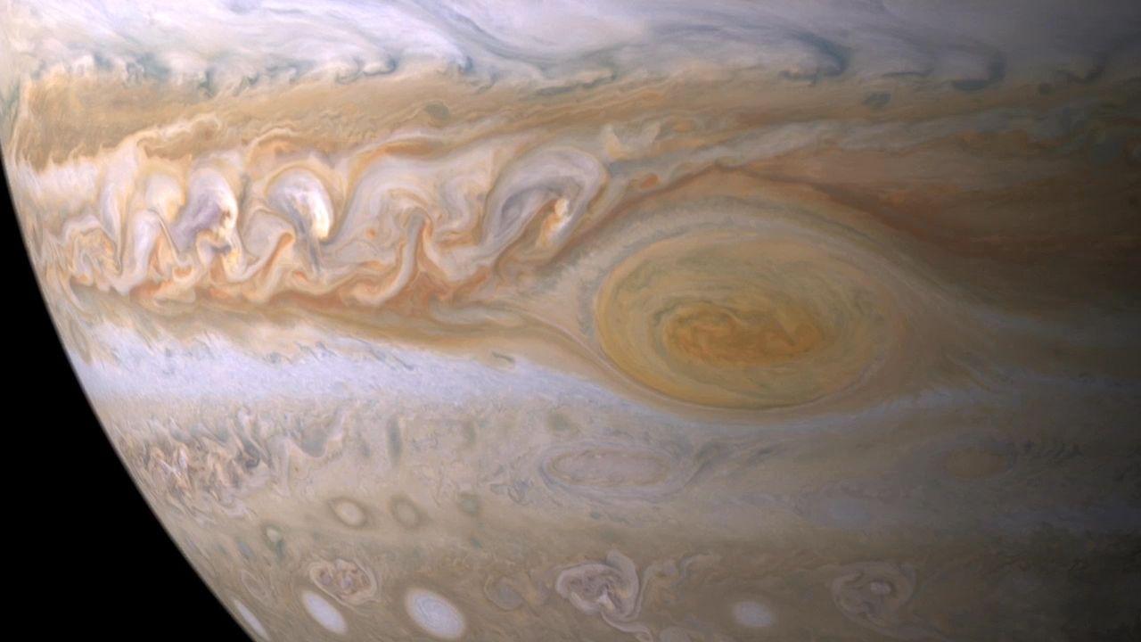 7-10-17 Jupiter Great Red Spot