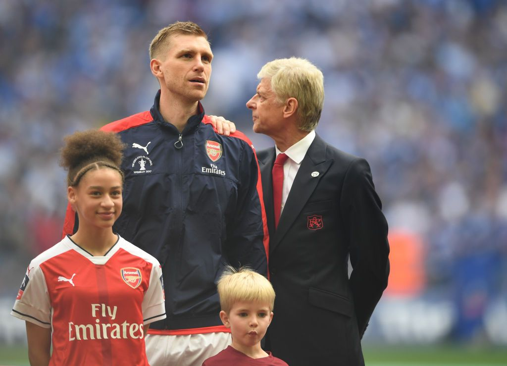 Mertesacker and Wenger