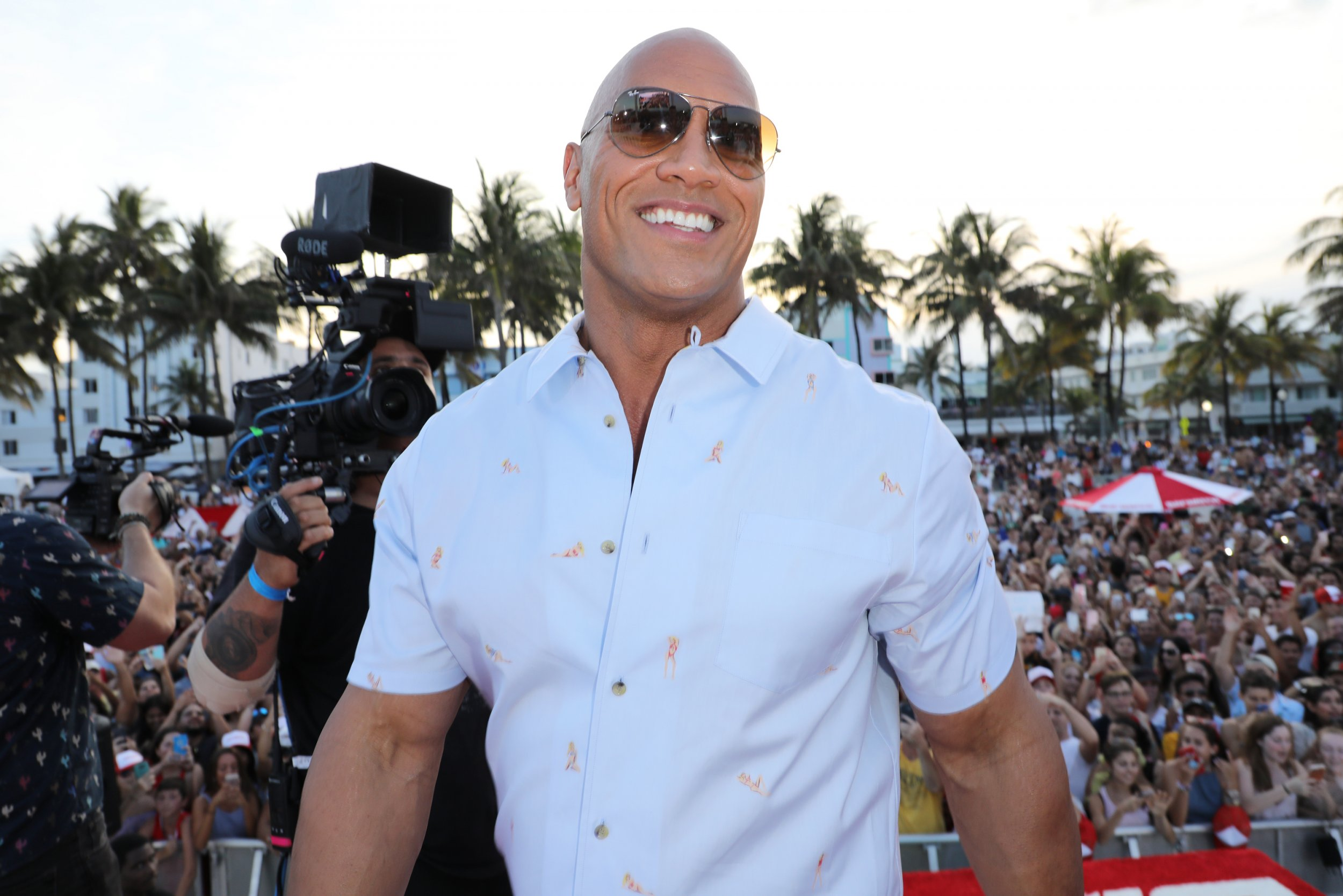 Dwayne Johnson - The Rock 2020 presidential campaign
