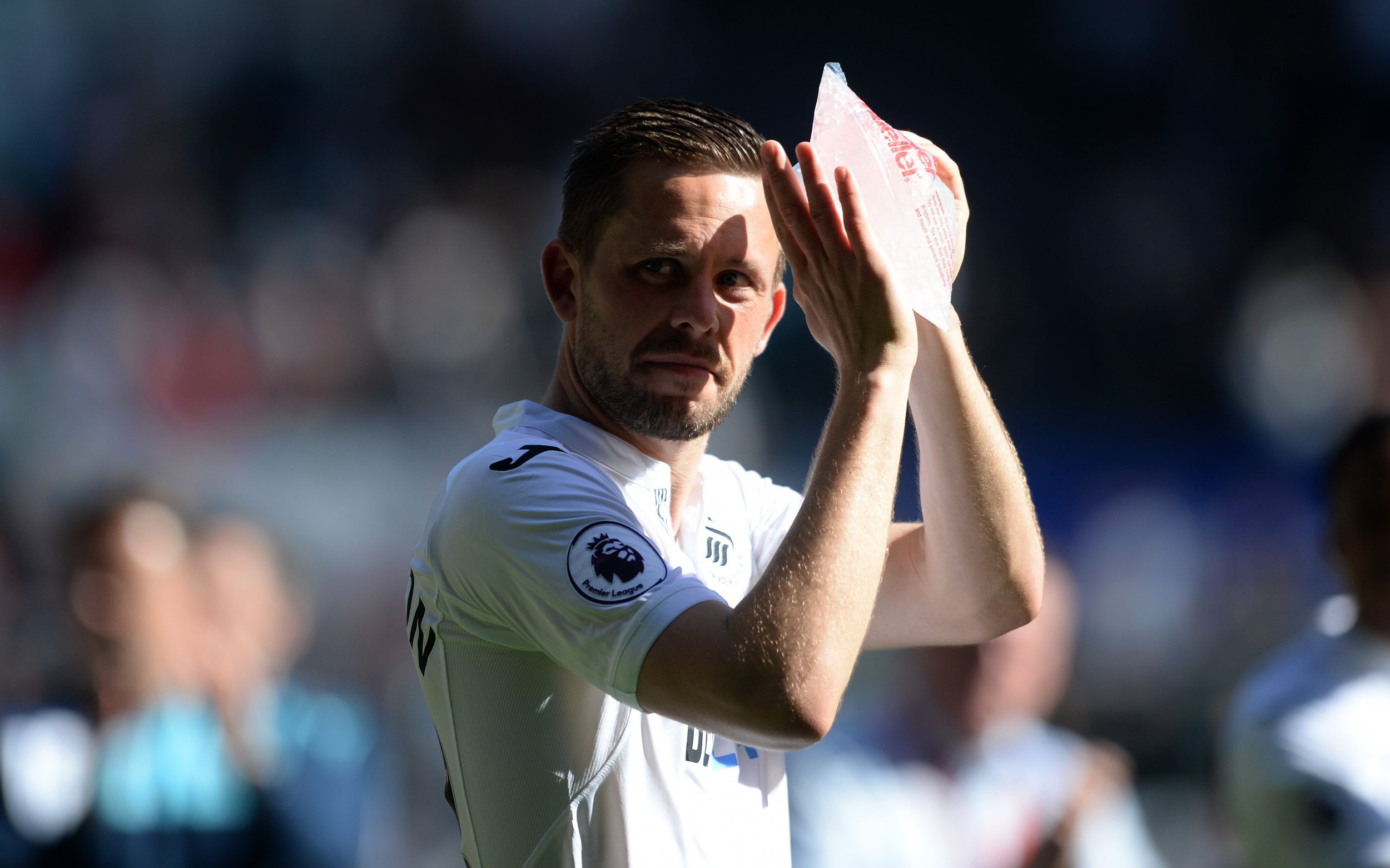 Swansea City midfielder Gylfi Sigurdsson.