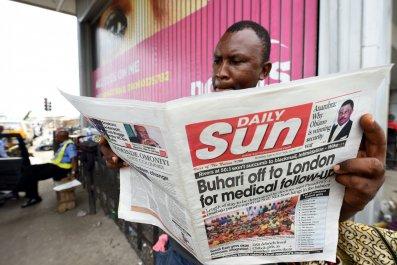 Buhari sick leave