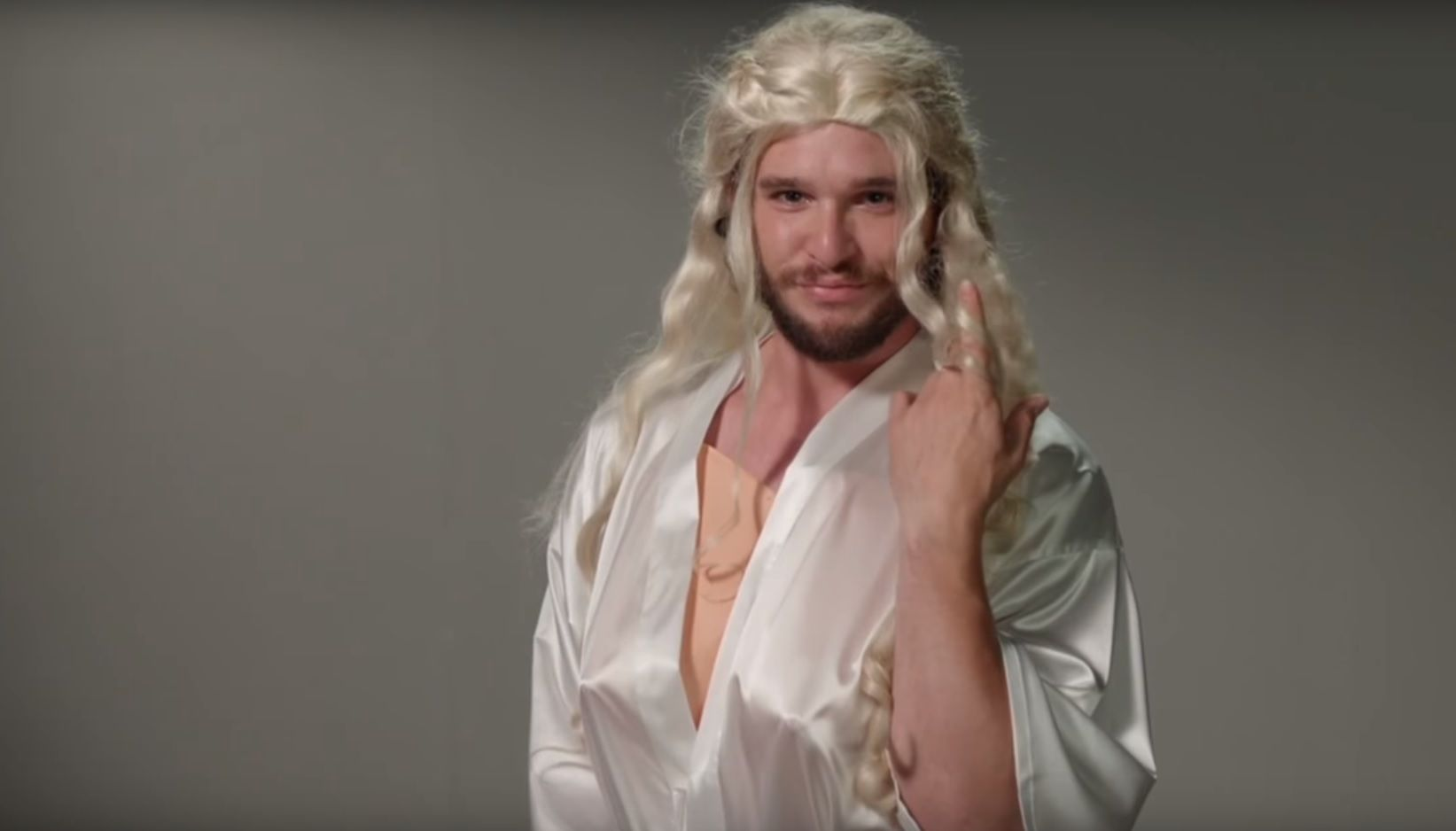 Gwendoline Christie Nude Pictures for game of thrones:' jon snow actor kit harington's hilarious