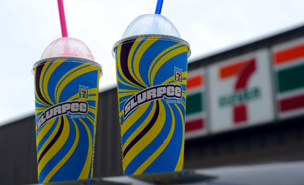 7-Eleven celebrated its 90th birthday by handing out free slurpees
