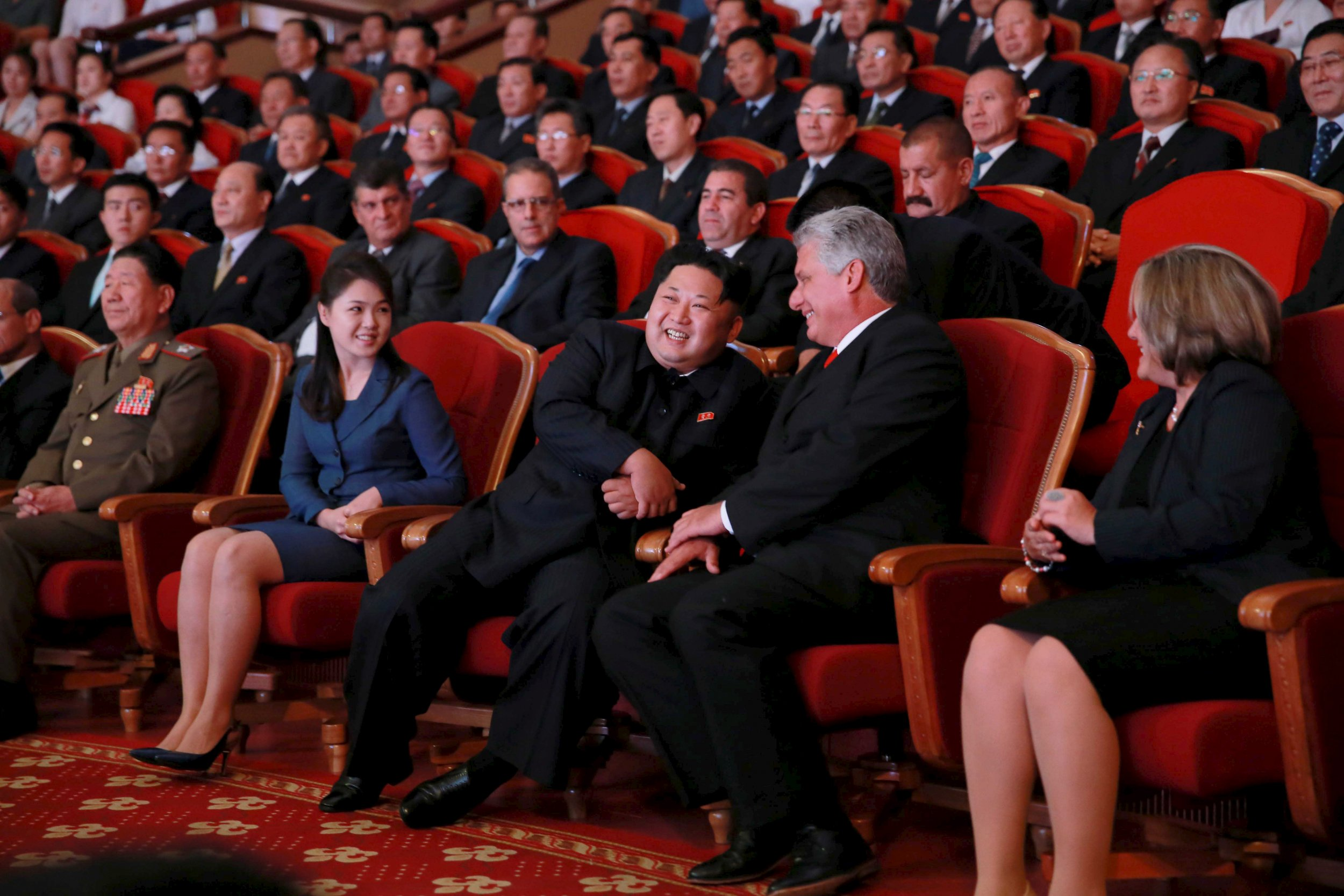 Even Kim Jong Un S Wife Came Out Of Hiding To Celebrate North Korea S Missile Test