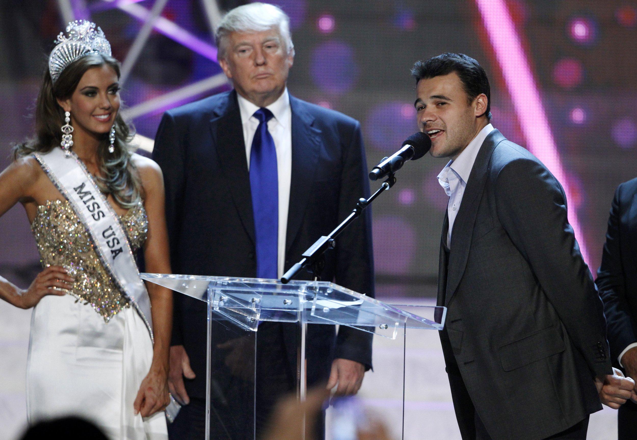 Trump, Emin Agalarov Miss Universe