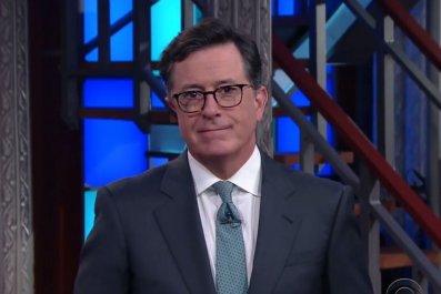 Stephen Colbert apologizes to Donald Trump's son Eric