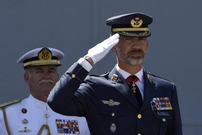 Spanish King Felipe