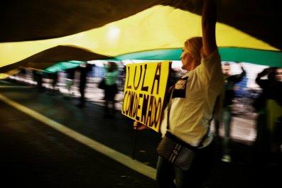 Brazil protest Lula