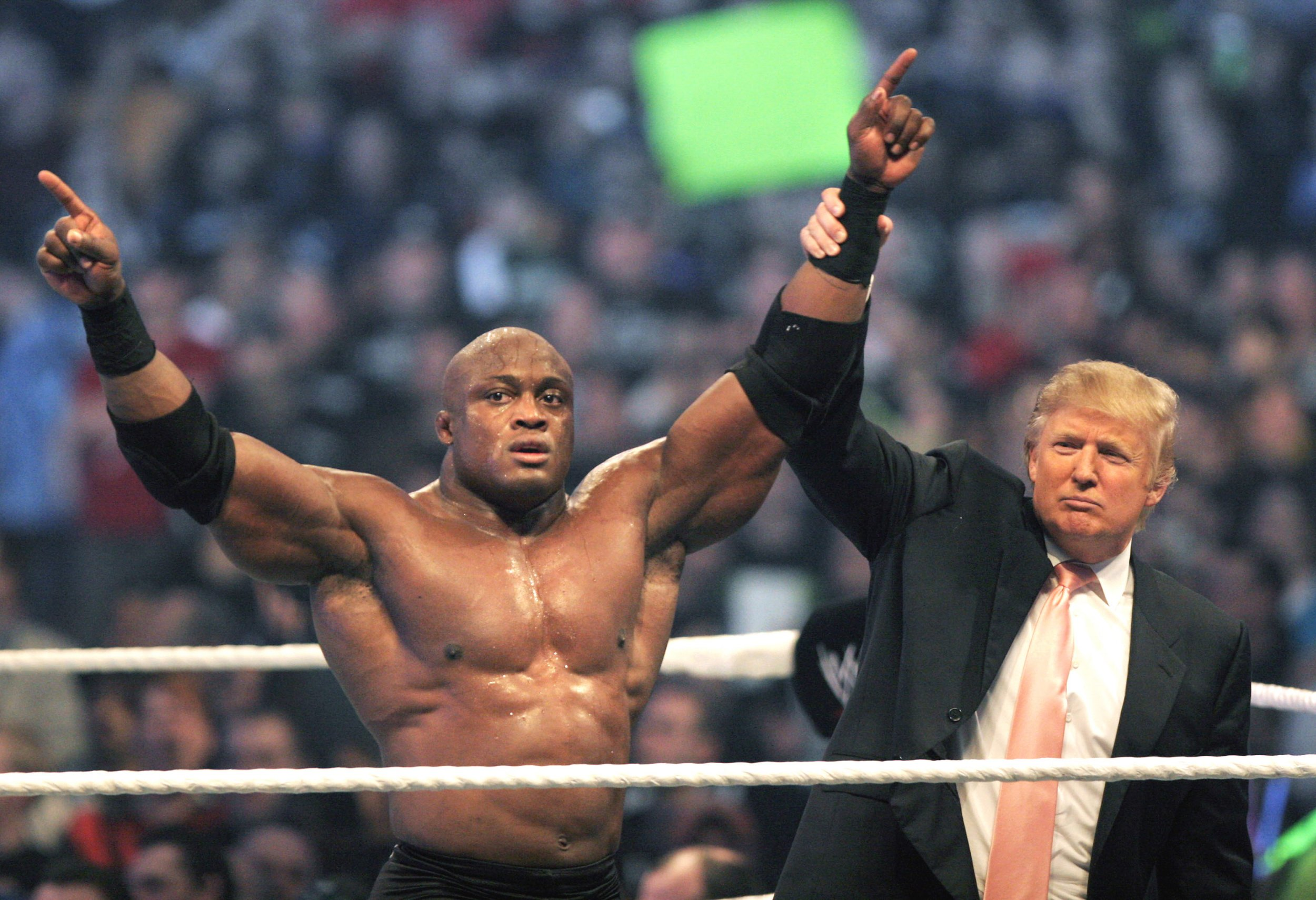 Bobby Lashley and Donald Trump