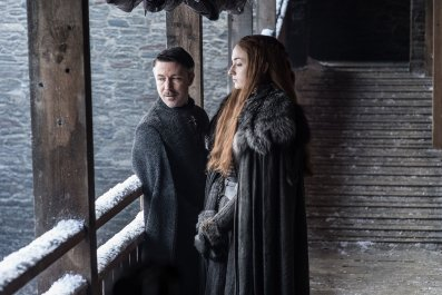 Sansa Stark in Game of Thrones Season 7