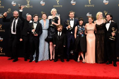 Game of Thrones cast at 2016 Emmy Awards
