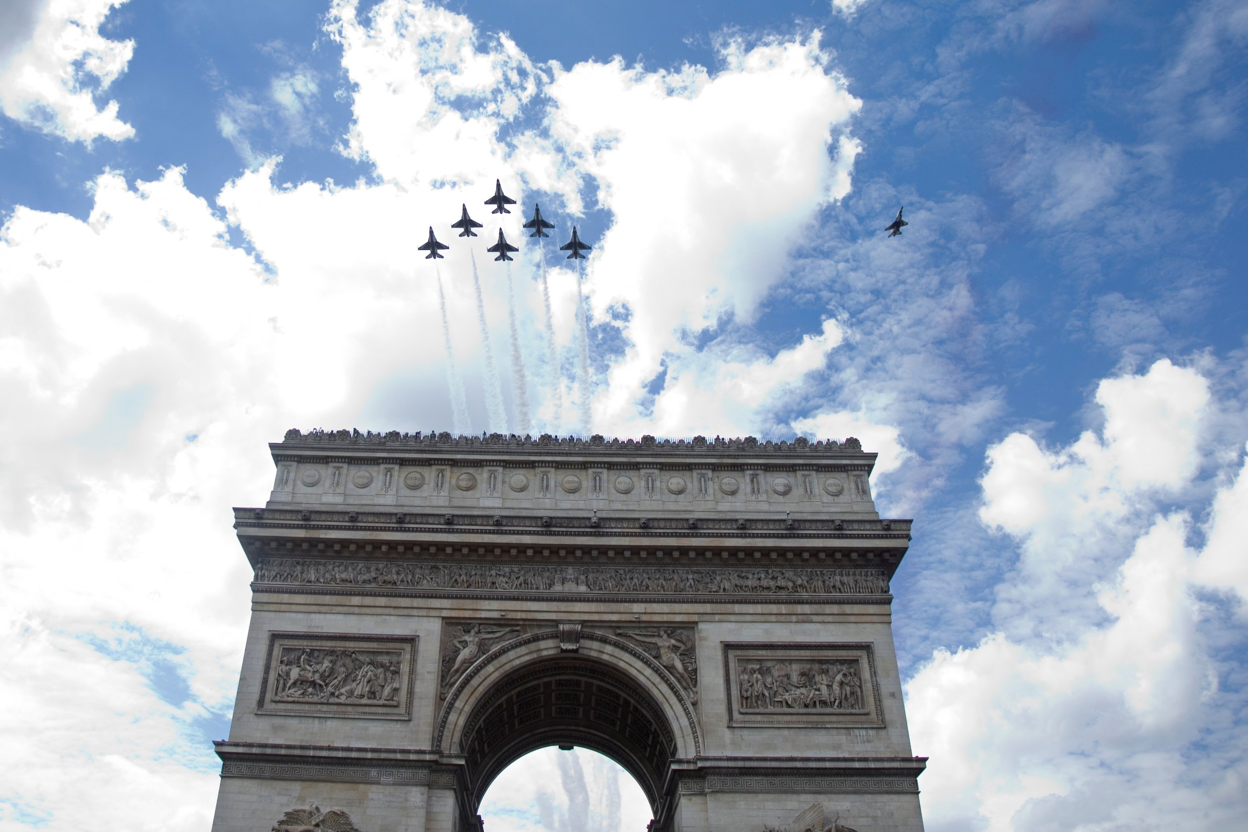 Bastille day U.S. Air Force
