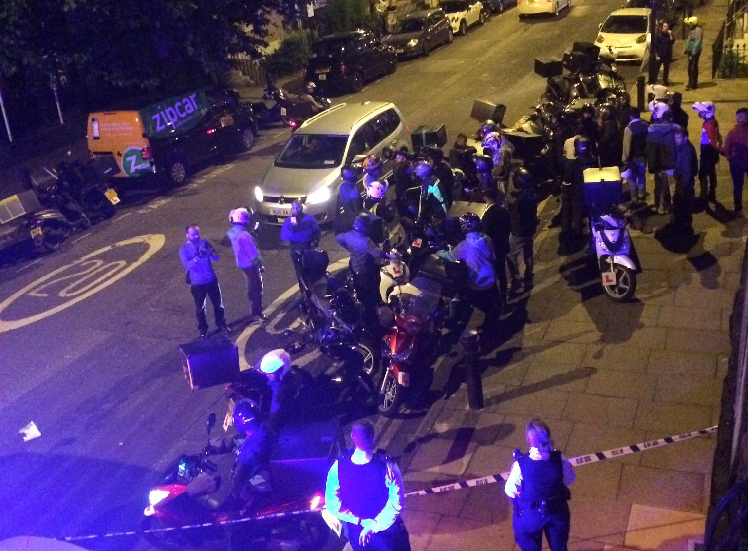 Acid Attack London