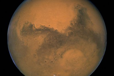 Mars close up