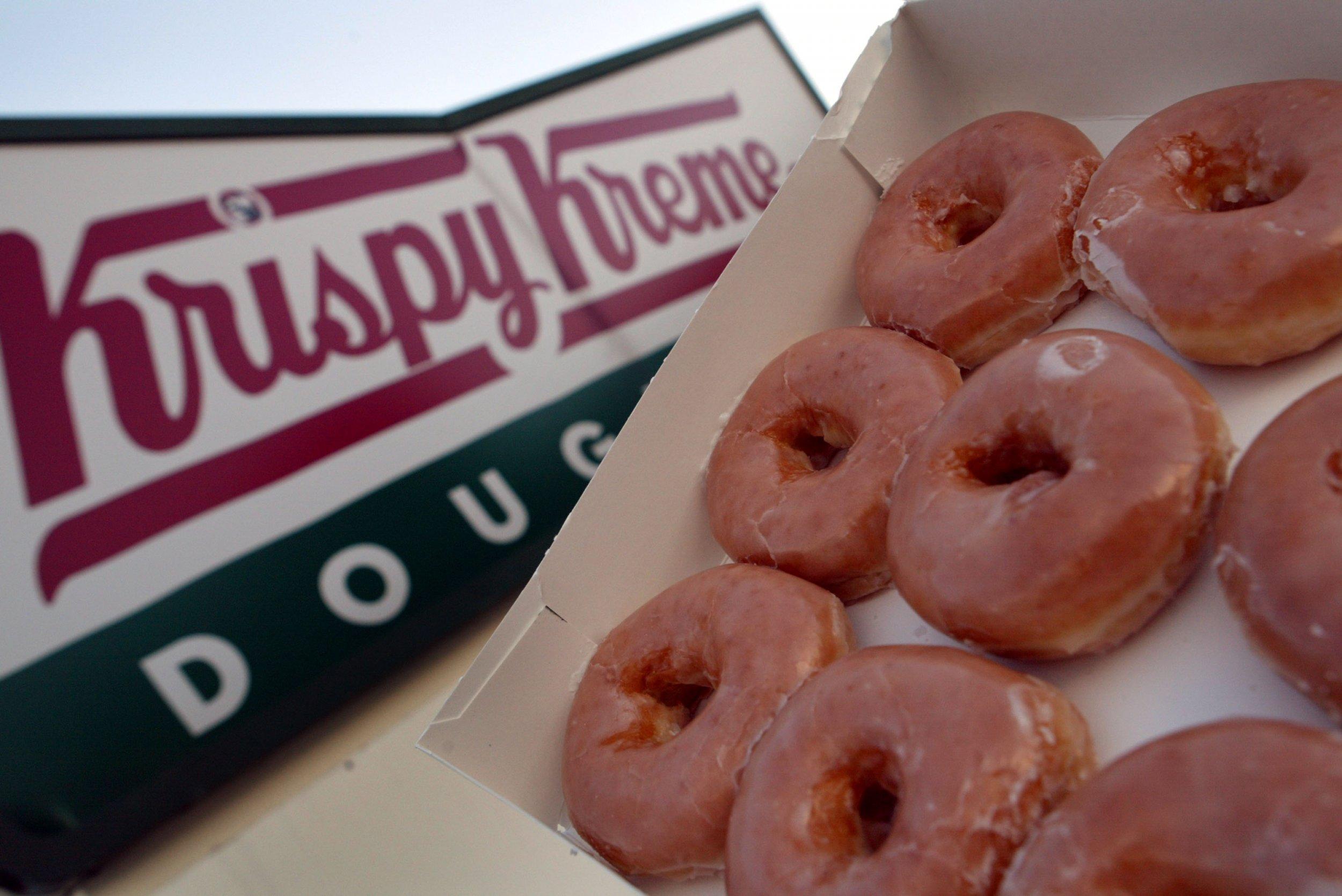 how long would you line up for a doughnut krispy kreme sale causes stalled traffic and three hour waits - Krispy Kreme Christmas Hours