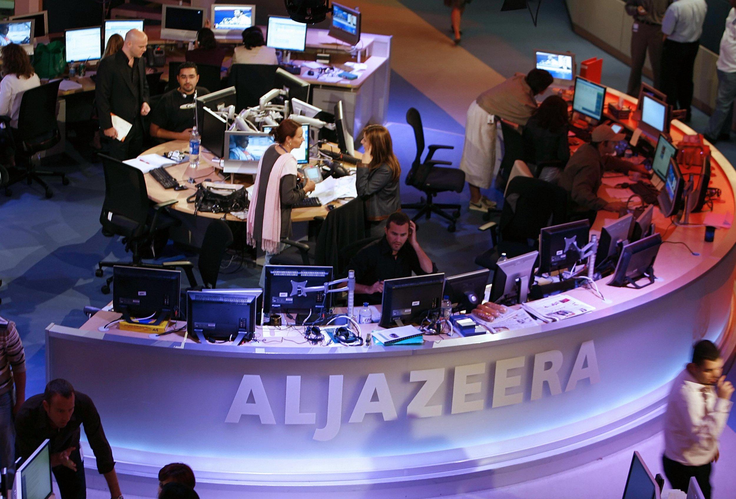 Qatar-based network Al Jazeera