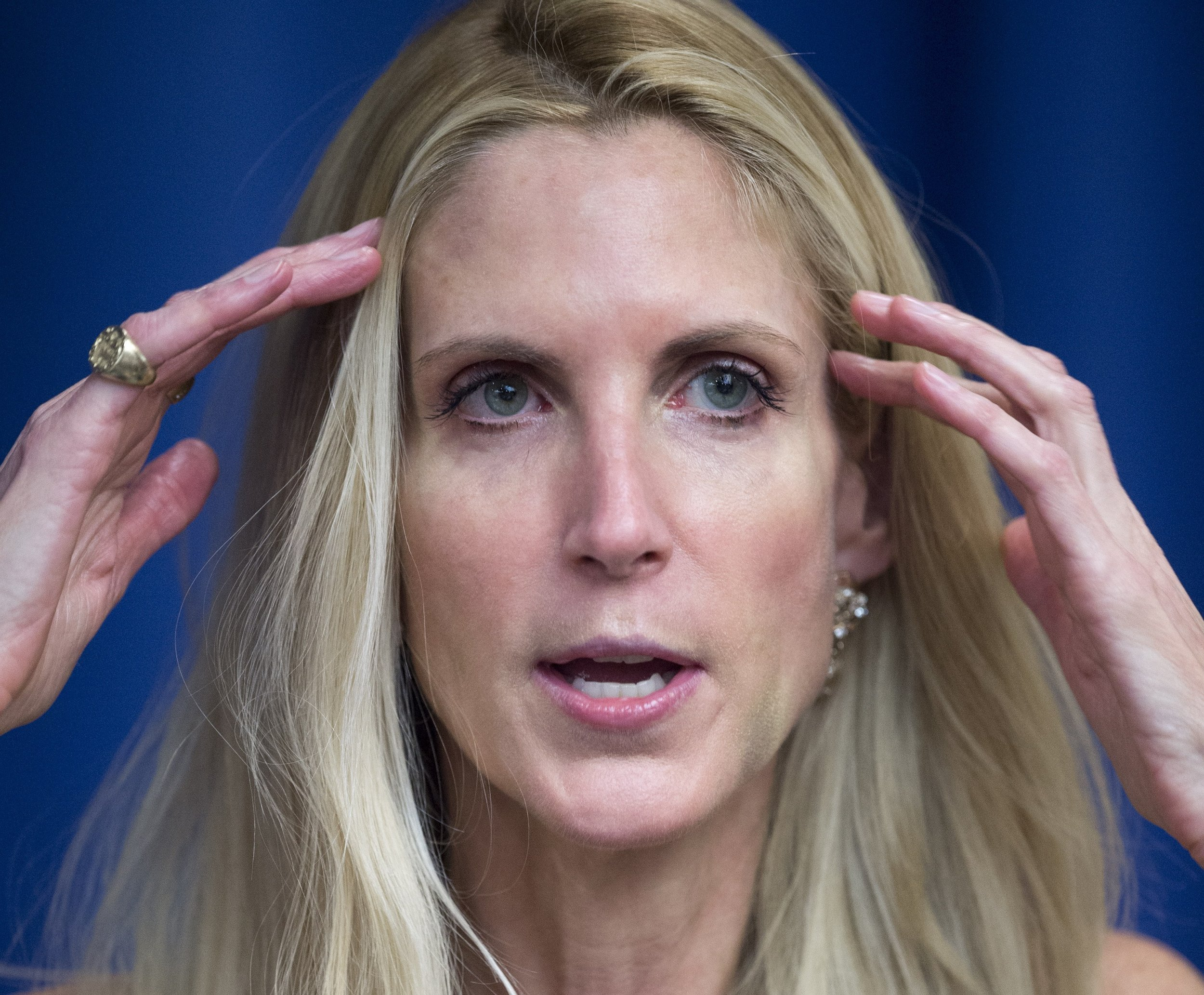 Ann Coulter proposes shooting immigrants trying to cross U.S. border illegally following Gaza protests