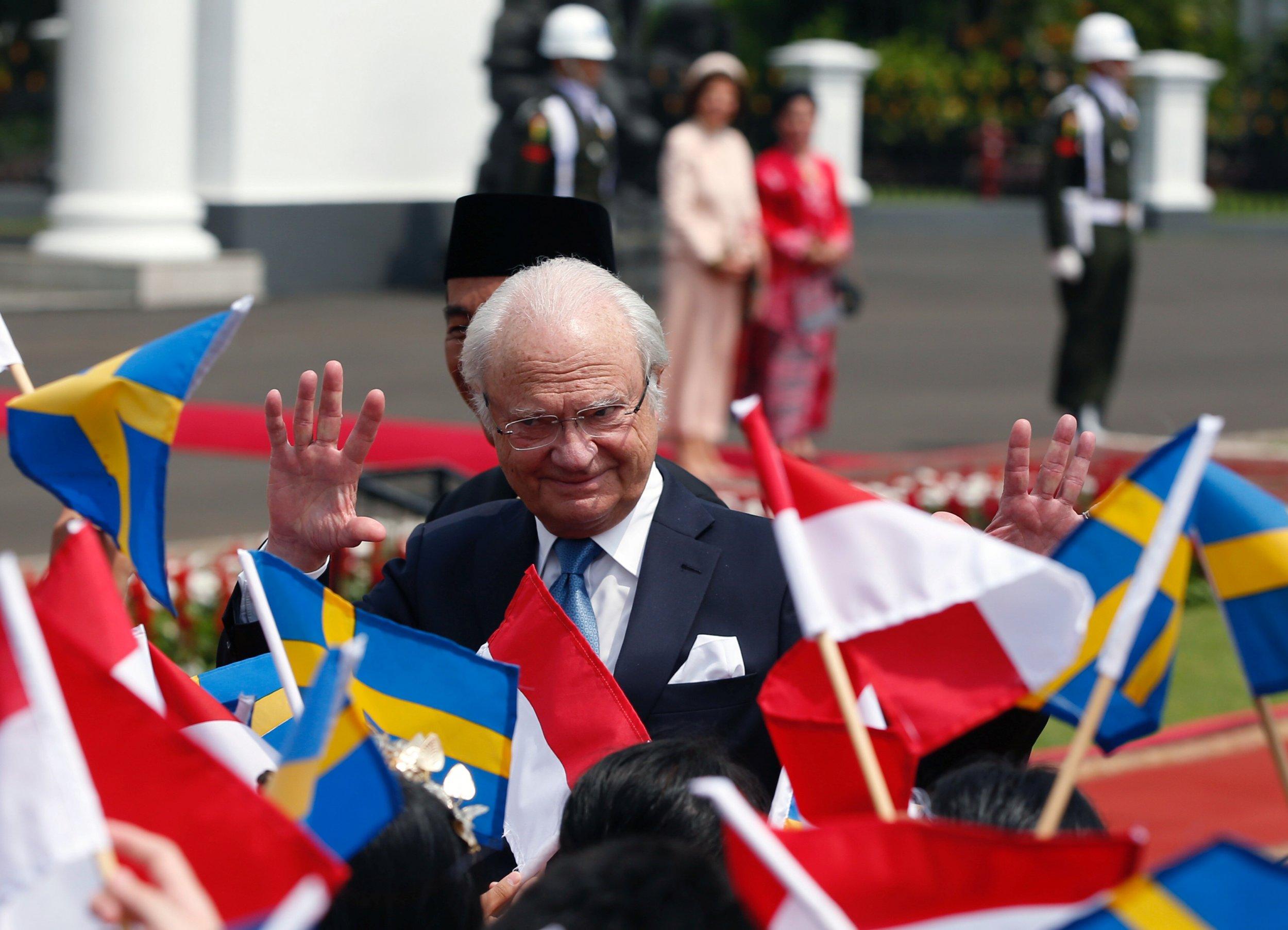 Swedish king