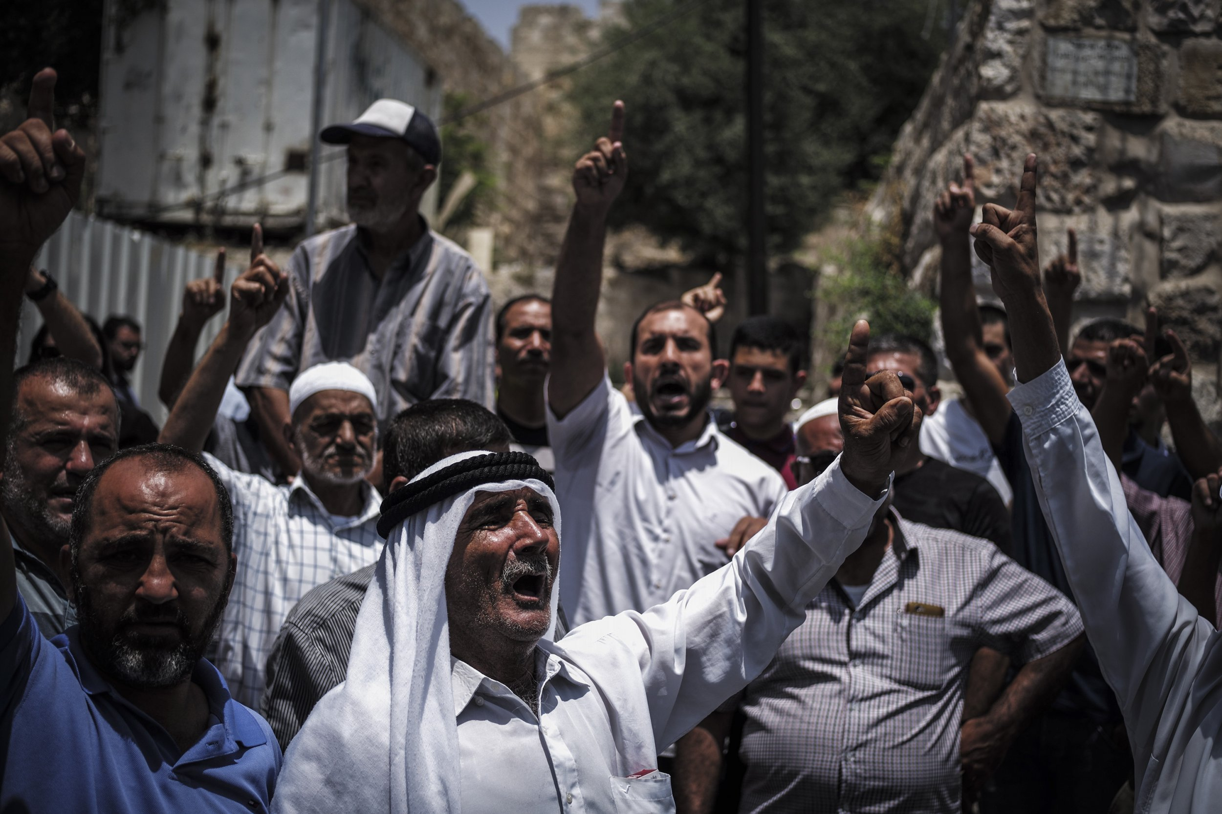 Jew Detector: Middle East Conflict: Palestinians Urge 'Day Of Rage' As