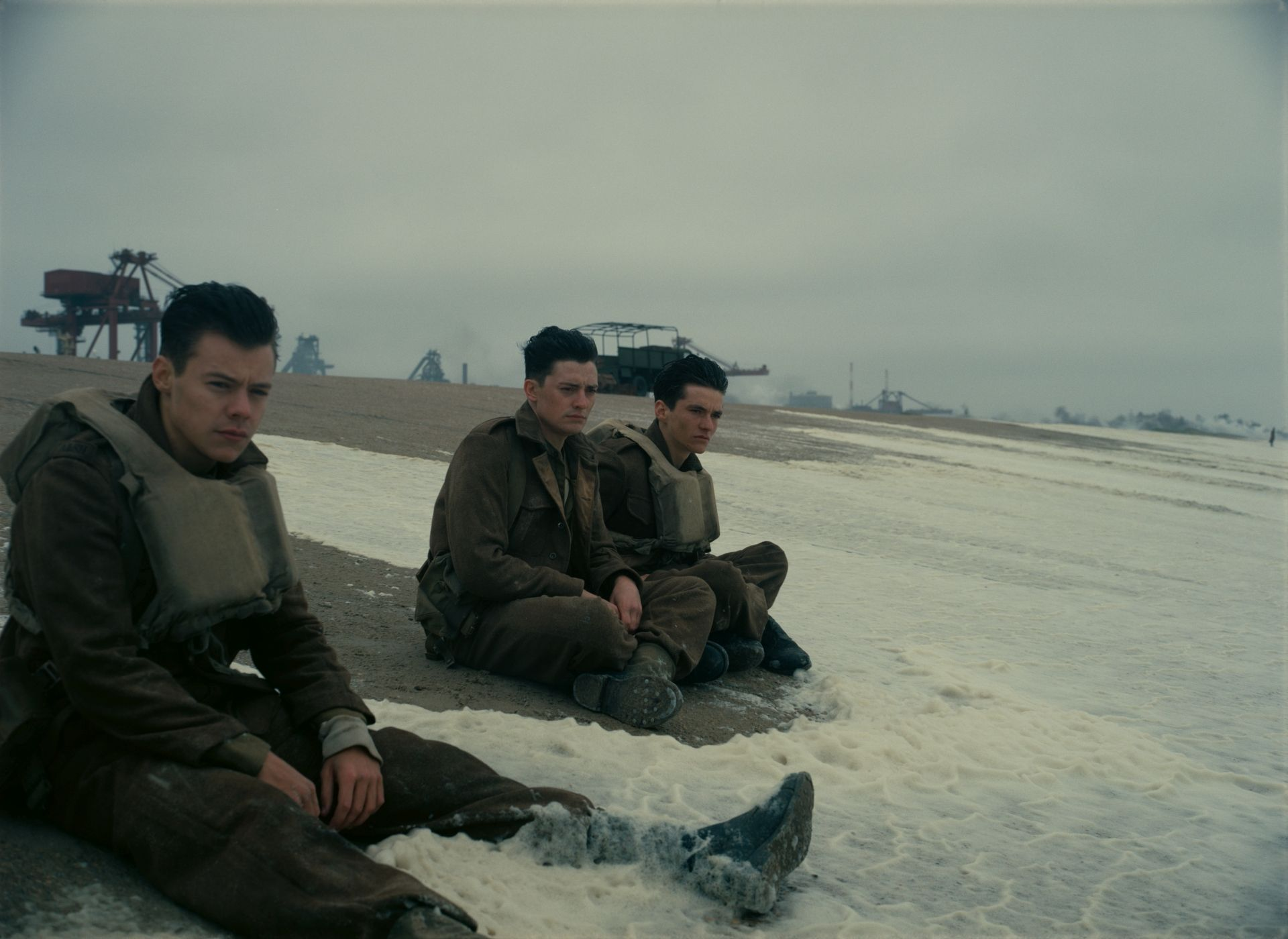 Dunkirk - Harry Styles as Alex