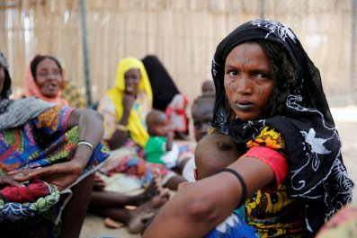 Nigeria Maiduguri IDPs