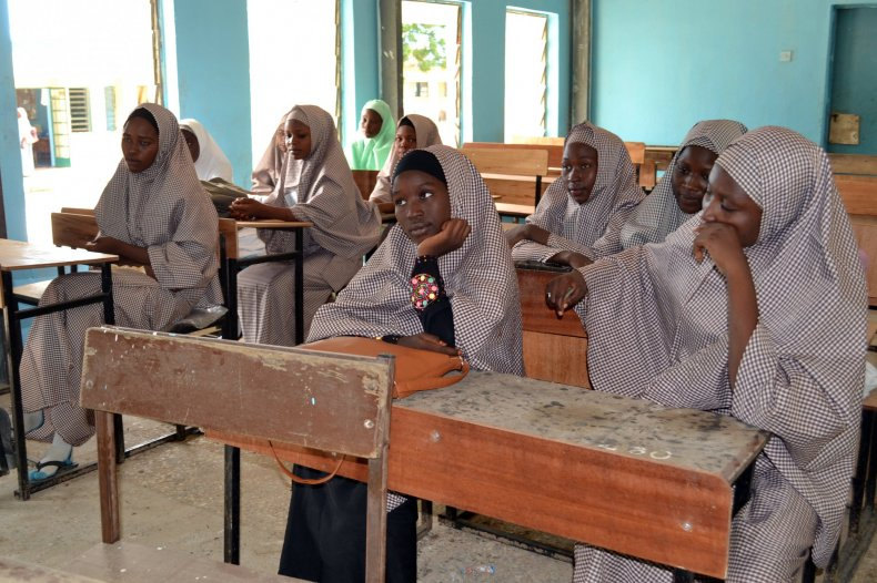 Nigeria schooldhildren