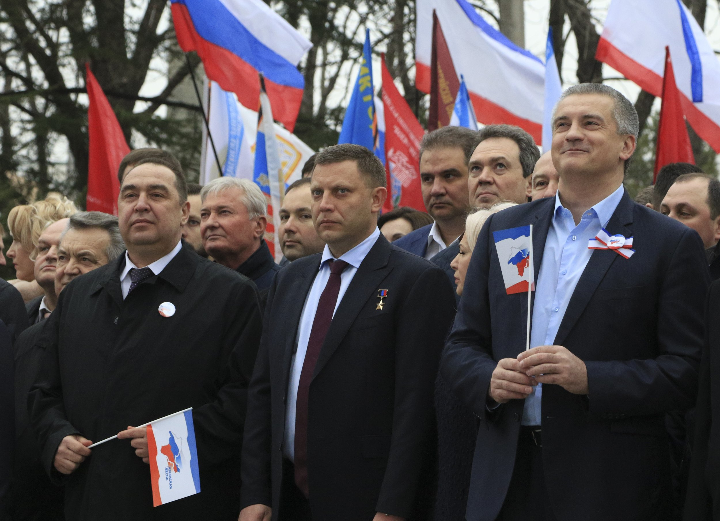 Russian separatist leaders