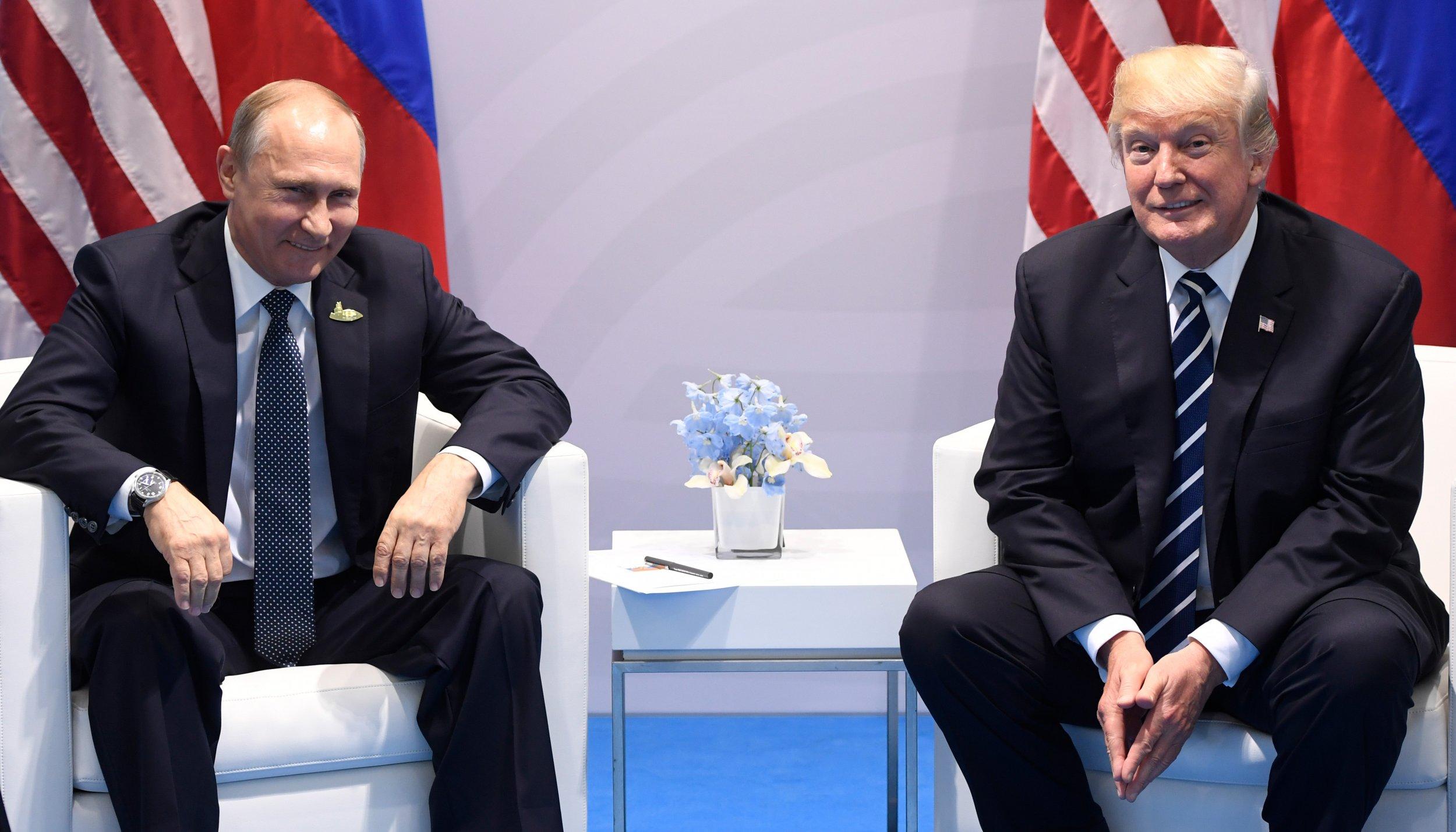 Trump and Putin at G20