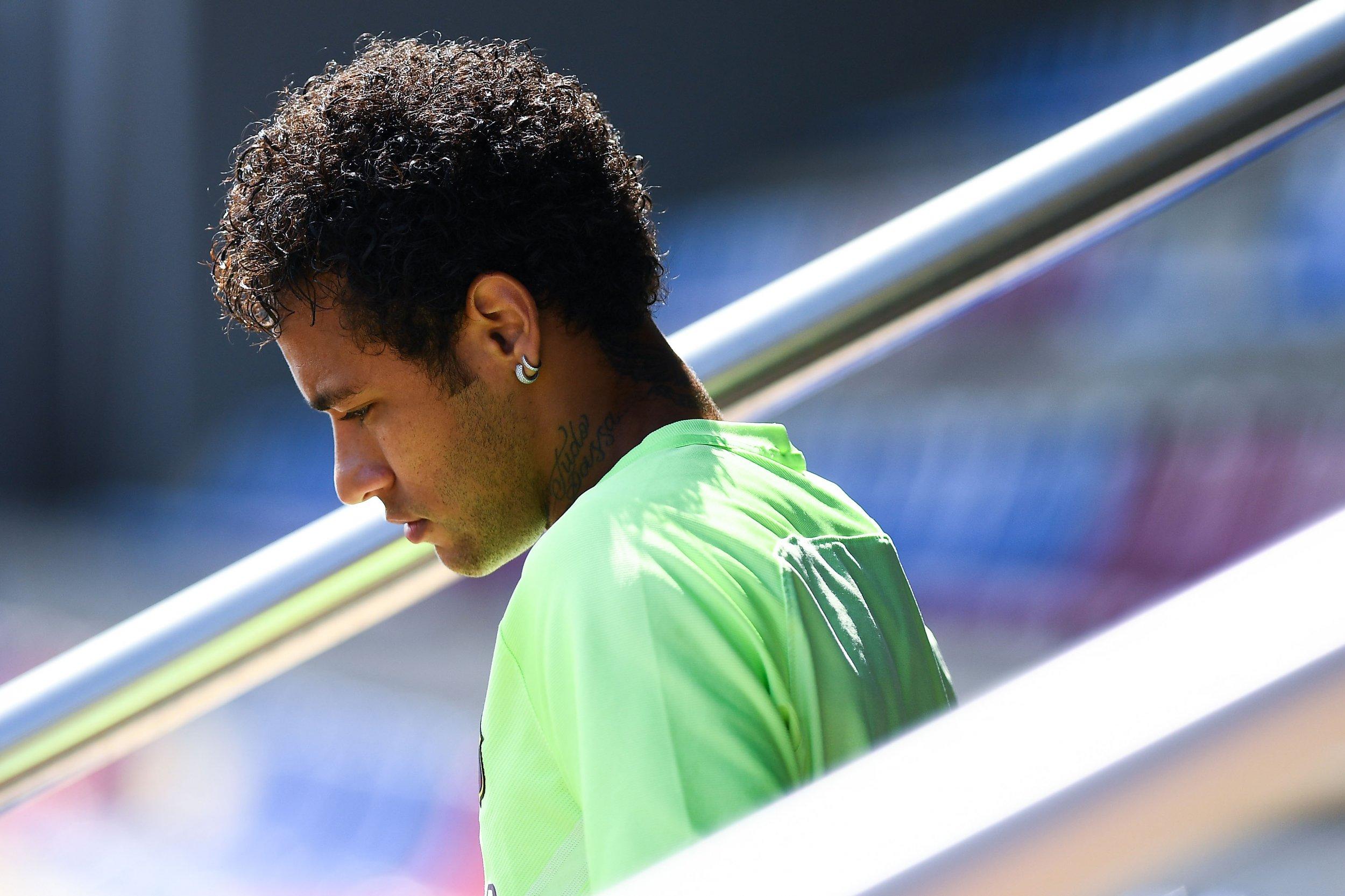 Barcelona winger Neymar.