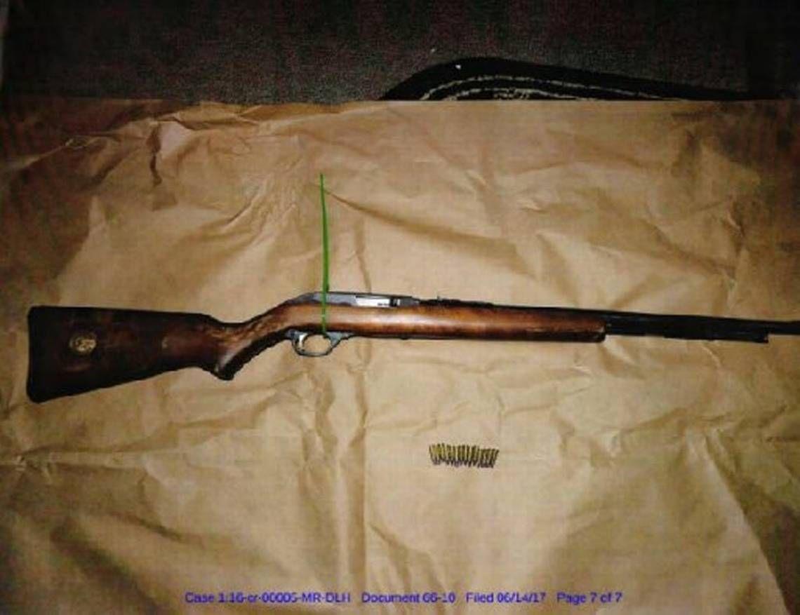 Justin Sullivan Murder Weapon