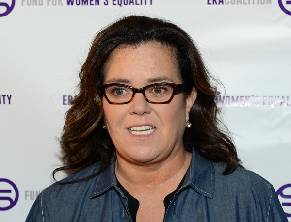 Rosie O'Donnell irks conservatives with Push Trump Off a Cliff game