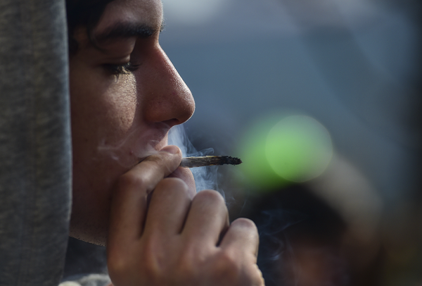 You won't go to jail for possessing small amounts of marijuana in New Hampshire