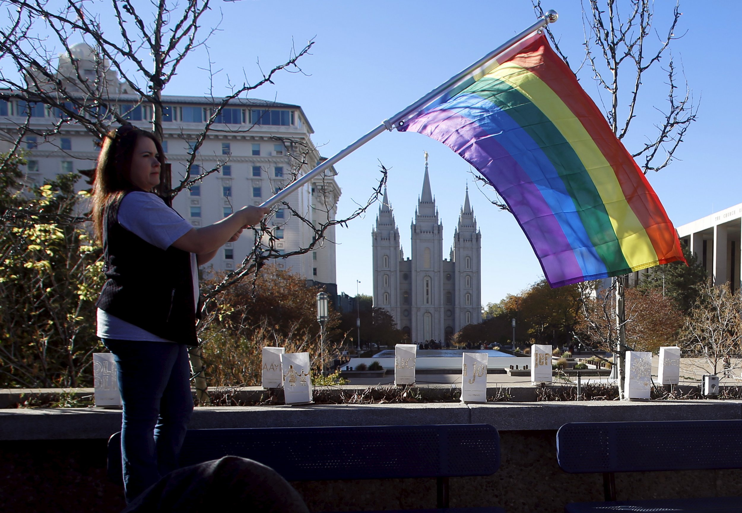 from Jordyn gay rights info on mormon protest
