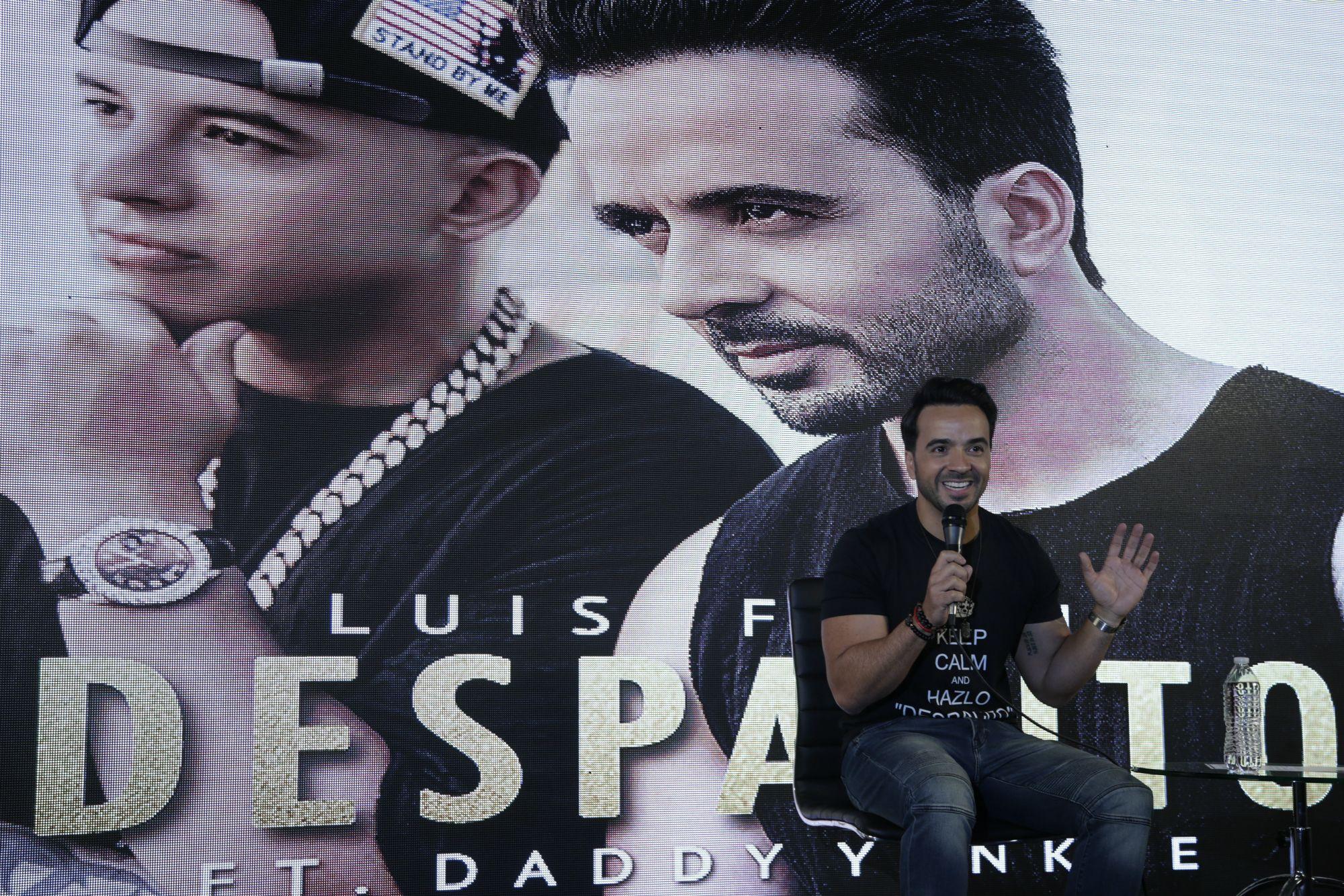 Despacito singer Luis Fonsi